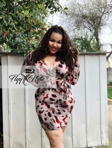 Final Sale Plus Size RAVE Contrast Jumpsuit in Black and White