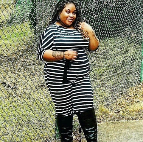 Final Sale Plus Size 2-Piece SHEER MADNESS Short Sleeve Crop Top and Pants Set with Black Faux Leather Trim in Brown