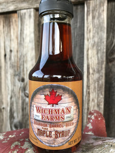 bourbon barrel maple syrup