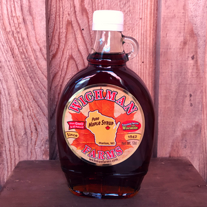 Pure Maple Syrup - 12 oz (Glass Bottle)
