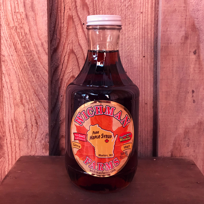 Pure Maple Syrup - 16 oz (Glass Bottle)