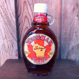 Pure Maple Syrup - 8 oz (Glass Bottle)