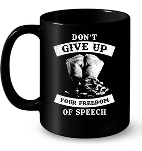 don t give up speech