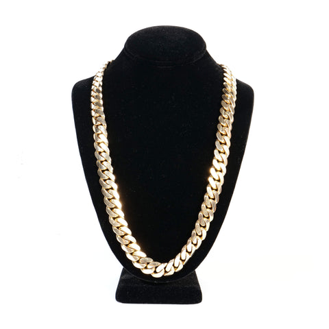 14K Yellow Gold Cuban Link Chain 409.8gr