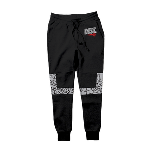 DIST 81 Tech Fleece Hoodie & Joggers (Cement Print) - District81 Clothing