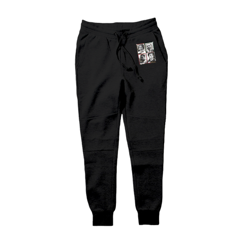 "Image of D81 ""Black Excellence"" Tech Fleece Hoodie & Joggers - District81 Clothing"