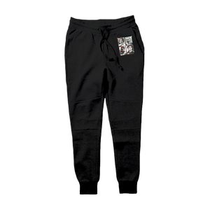 "D81 ""Black Excellence"" Tech Fleece Hoodie & Joggers - District81 Clothing"