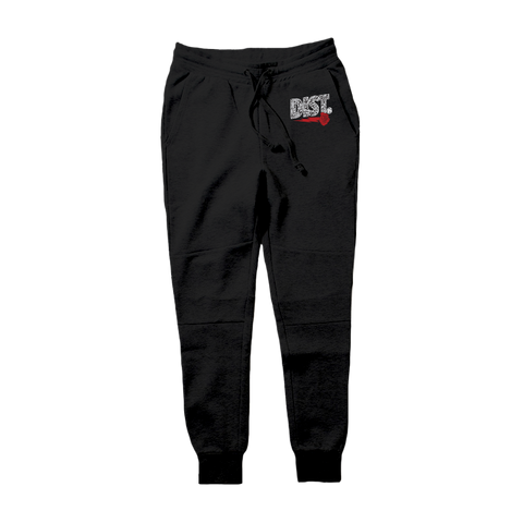Image of DIST 81 Tech Fleece Hoodie & Joggers *Cement 2* - District81 Clothing
