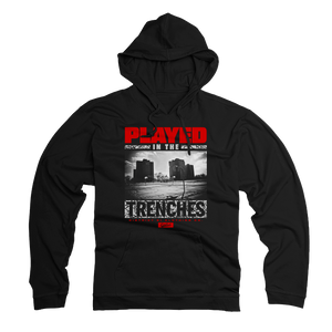 D81 Played In the Trenches Tech Fleece Hoodie & Joggers (Cement) - District81 Clothing