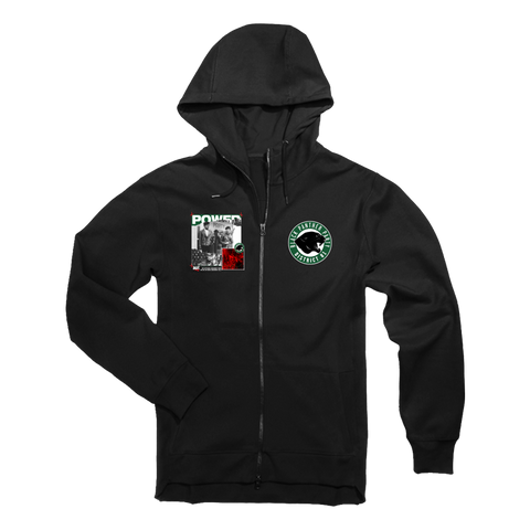"Image of D81 ""Black Panther Power"" Tech Fleece Hoodie & Joggers - District81 Clothing"