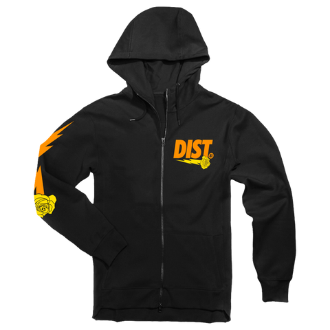 DIST 81 Tech Fleece Hoodie & Joggers *Orange & Yellow* - District81 Clothing