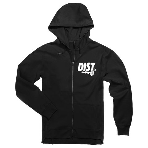 Image of DIST 81 Tech Fleece Hoodie & Joggers *Black & White* - District81 Clothing