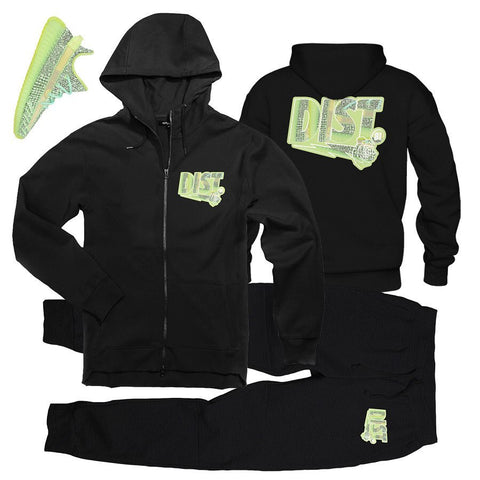 Alien Glow (Zip-Up) - District81 Clothing