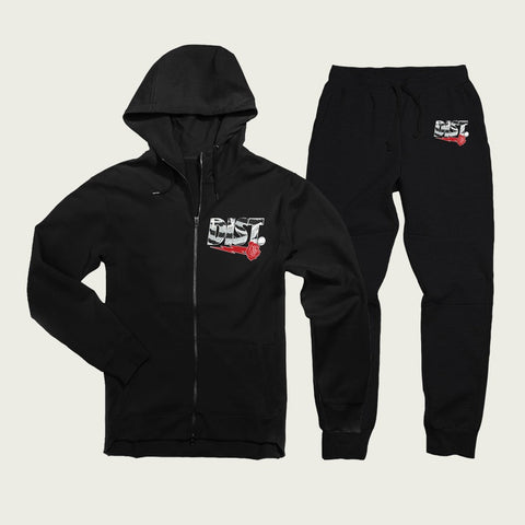 D81 Zebra Tech Fleece Joggin Suit - District81 Clothing