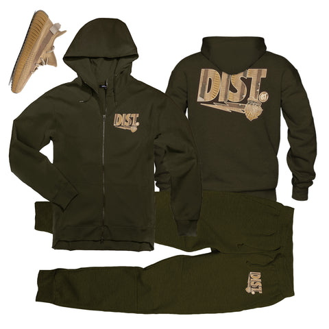 Image of D81 Yeezy Earth Zip-Up - District81 Clothing