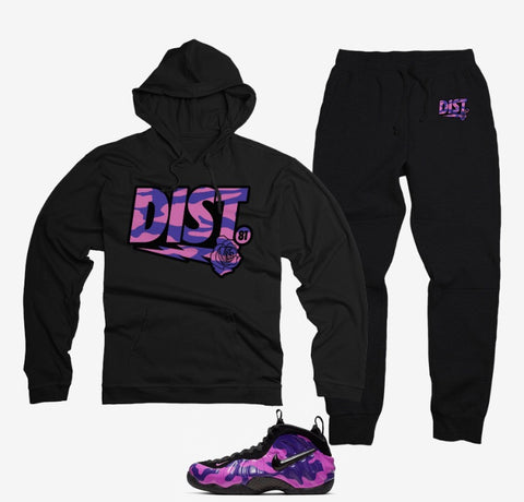 The Purps Tech Fleece Jogging Suit - District81 Clothing