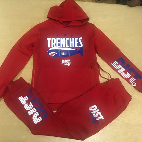The Trenches Pull Over Tech Set - District81 Clothing