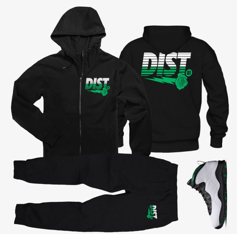 The Lucky Day Tech Fleece Jogging Suit - District81 Clothing