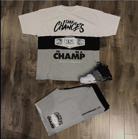 Chances Make Champions - District81 Clothing
