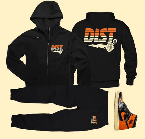 The Chocolate Thunder  Tech Fleece - District81 Clothing