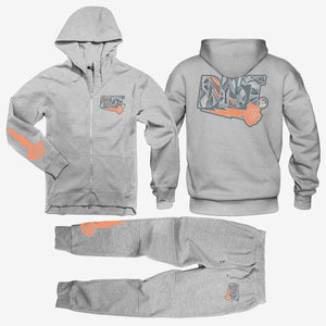 The D81 Inertia Wave Tech Fleece Jogging Zip Suit - District81 Clothing