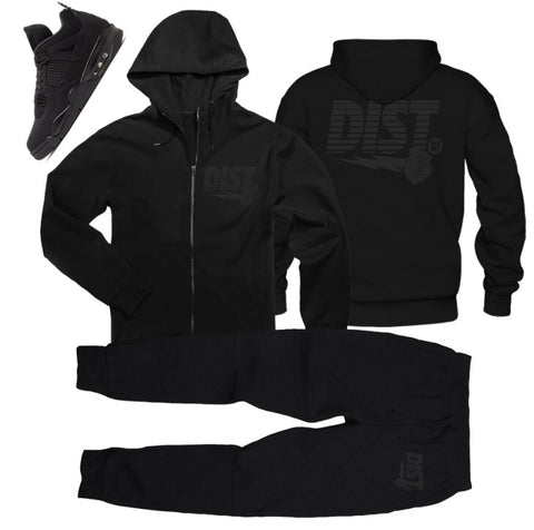 BLACK CAT PACK(zip up) - District81 Clothing