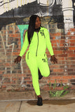 Ladies Volt Tech Fleece Jogging Suit - District81 Clothing