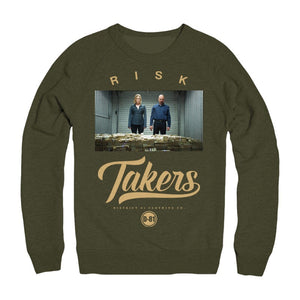 D81 Risk Takers *Breaking Bad* Crewneck - District81 Clothing