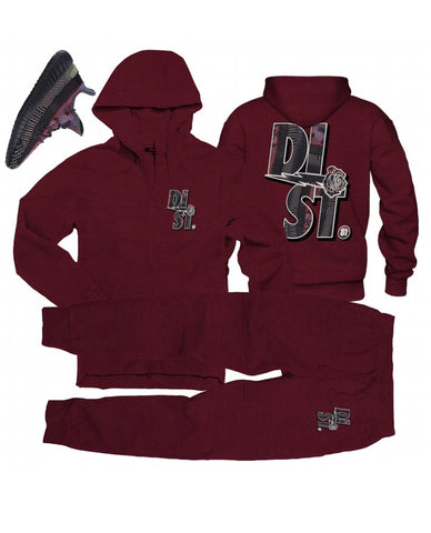 D81 Yecheli Pack Maroon - District81 Clothing