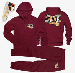 D81 Rache Pack (Red ZIP Up) - District81 Clothing