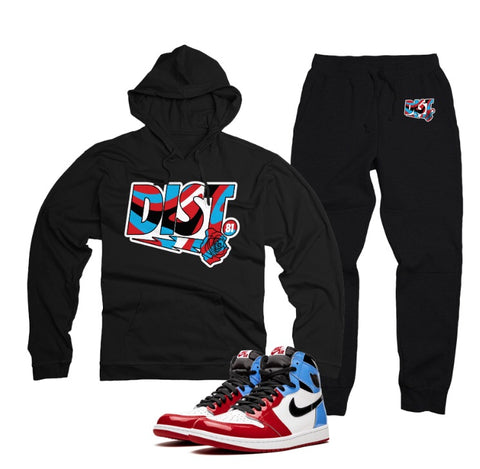 The D81 Fear Nothing Tech fleece jogging suit - District81 Clothing