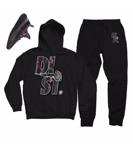D81 Yecheli Pack Black Pull Over - District81 Clothing