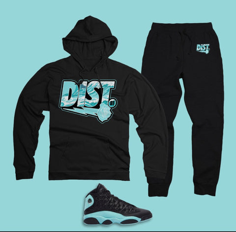 DIST Tiffany Blue Wave - District81 Clothing