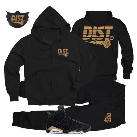 Image of The Golden Era Tech Fleece see w/ Mask - District81 Clothing