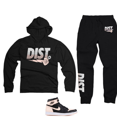 The  Behind Tent Tech Fleece Jogging Suit - District81 Clothing