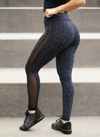 Mesh Fitted Leggings