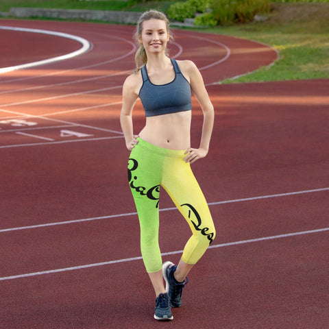 Color Me Bia Signature Capri Leggings