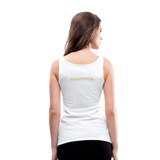 Women's Premium Tank Top - white