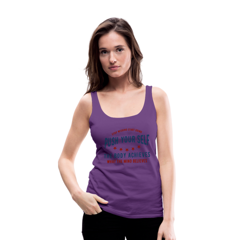 Women's Premium Tank Top - purple
