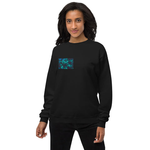 Leaf on me Unisex fleece sweatshirt