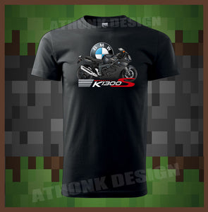 BMW K1200S MOTORCYCLE TEE SHIRT BMW MOTORSPORT T-SHIRT BMW  ROAD RUNNER SHIRT