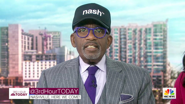 Al Roker / 3rd Hour TODAY SHHOW Nashville Looks Good On You