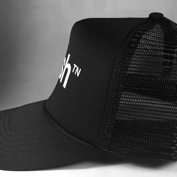 Nashville Foam Trucker Hat Mesh Side View