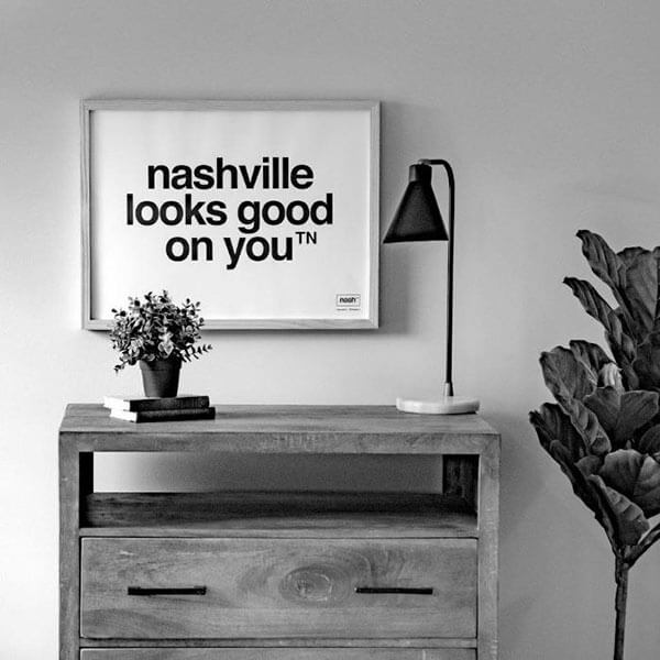 wall decor nashville interior designer nashville looks good on you poster wall print