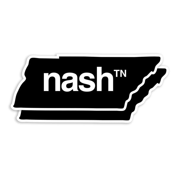 the nash TN magnets shaped like Tennessee