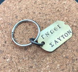 Know thyself keychain gift. Know yourself γνωθι σ´αυτον