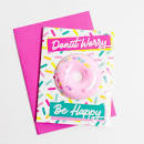 Donut Worry Bath Card