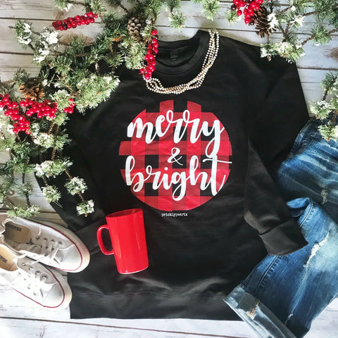 Merry and Bright Sweat Shirt