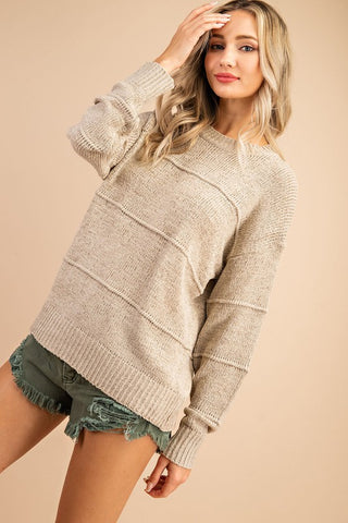 Tiered Knit Sweater