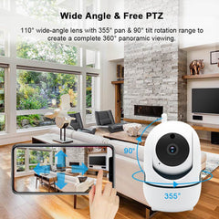 HomeCam (Best Wifi Wireless Home Security Camera)